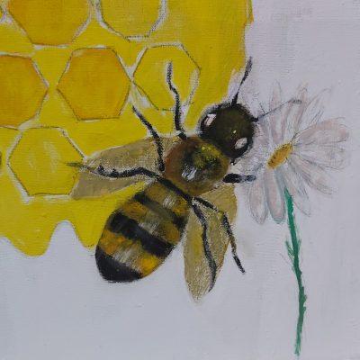 Las abejas mayas vistas con ojos infantiles: sorprende la creatividad en un concurso estatal de dibujo