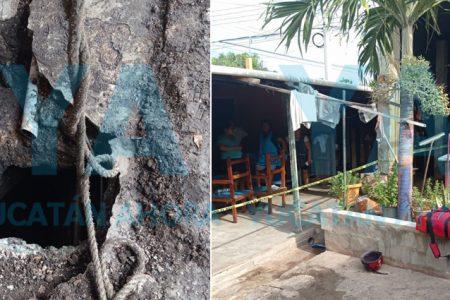 Fallecen dos trabajadores al caer a un sumidero que limpiaban en Ticul