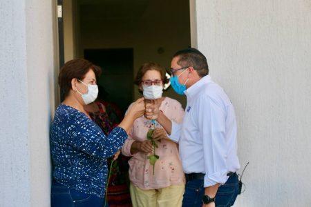 Víctor Hugo Lozano ya caminó más de 400 kilómetros en campaña