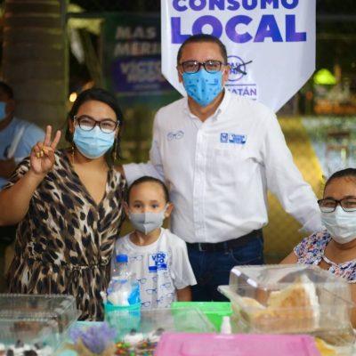 Votar por el PAN es impulsar la reactivación económica y el consumo local: Víctor Hugo Lozano