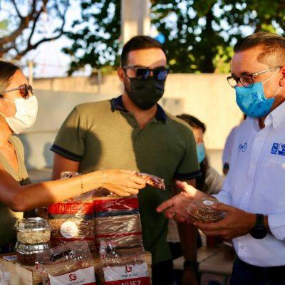 Apoya Víctor Hugo Lozano a 40 emprendedores del IV Distrito