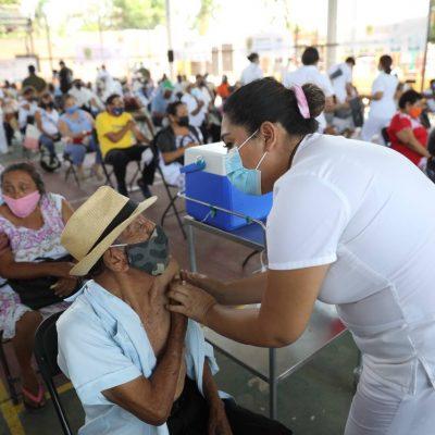 Dosis de tranquilidad para adultos mayores que completaron su esquema de vacunación contra el Coronavirus