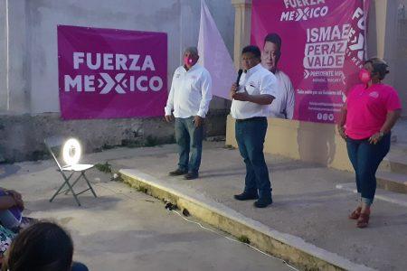 Ismael Peraza asegura que construirá un gobierno honesto y en contacto permanente con la ciudadanía