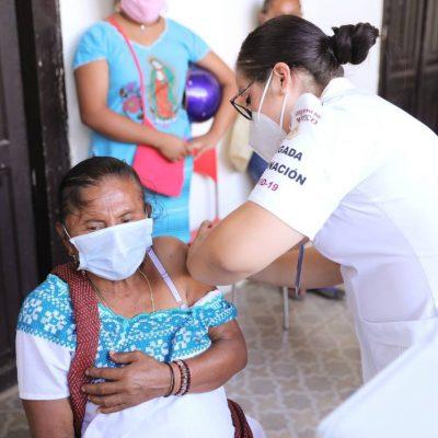 La vacunación contra Covid-19, una esperanza de vida para adultos mayores de Yucatán