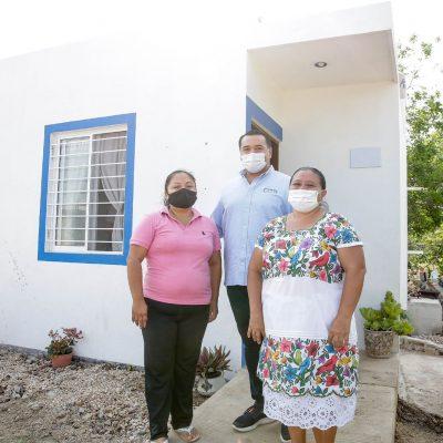 Vamos por 6 mil acciones de vivienda más: Renán Barrera