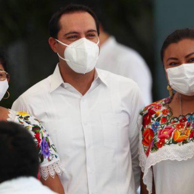 Reitera el Gobernador Mauricio Vila compromiso con el respeto y la inclusión del Pueblo Maya