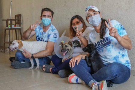 Karem Achach, a favor de la protección de los animales