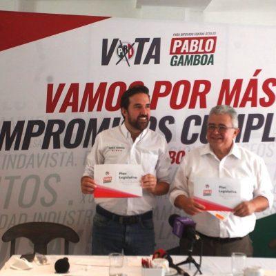 Con más de 30 acciones a realizar, Pablo Gamboa presenta su Plan Legislativo