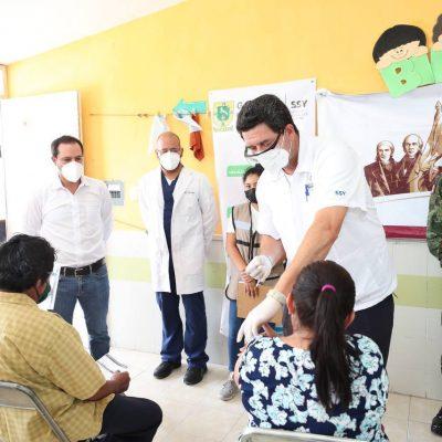 Ya se vacunaron contra Coronavirus más de 6,500 personas de 50 a 59 años en Yucatán