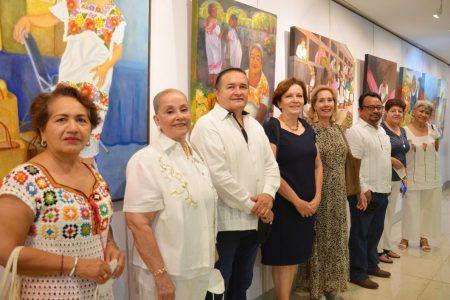 """Mujeres yucatecas celebran el día de la madre con exposición """"Homenaje a la maternidad"""""""