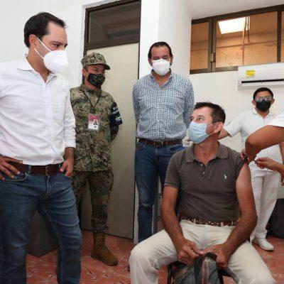 La vacunación a maestros de Yucatán, del 18 al 21 de mayo