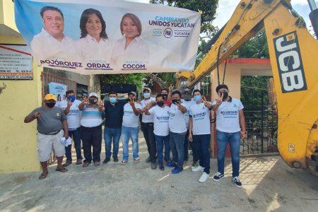 Sindicato de Albañiles refrenda su apoyo a Edwin Bojórquez