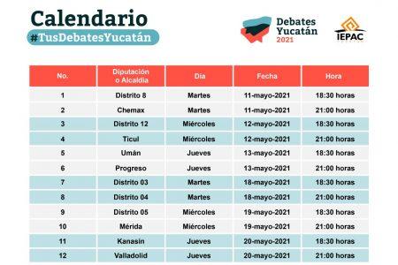 Este martes inician debates virtuales organizados por el Iepac
