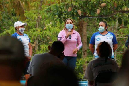 Policías más profesionales y más inversión en seguridad, propone Pili Santos