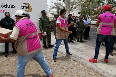 Llega a Yucatán un millón 790 mil 527 boletas para votaciones del 6 de junio