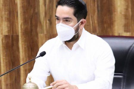 Se reincorpora Luis Borjas al Congreso del Estado