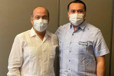 Felipe Calderón, de visita en Mérida para apoyar a candidatos del PAN