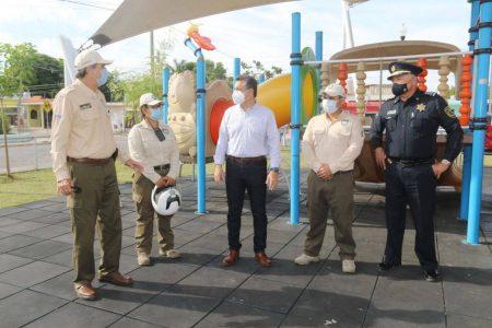 Con los Guardaparques, Mérida avanza en el cuidado, prevención y seguridad de espacios públicos