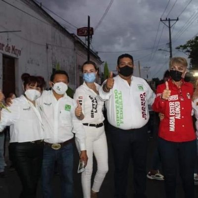 PRIMOR en municipio yucateco: candidata tricolor se suma al aspirante de Morena-PVEM