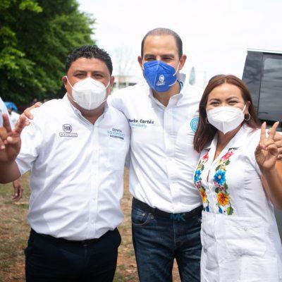 Atención a las necesidades sociales de Kanasín, una prioridad para Edwin Bojórquez