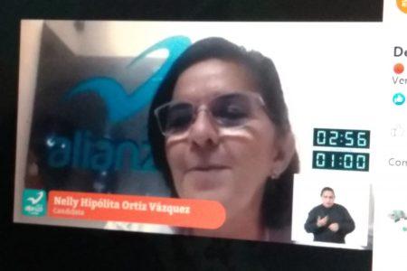 Sin miedo a responder, con propuestas reales para Mérida: Nelly Ortiz
