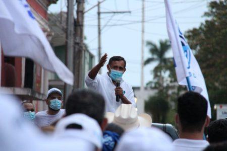 No vamos a permitir que se consume la injusticia, asegura candidato sustituto de Liborio Vidal
