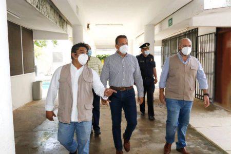 Supervisan refugios temporales en Mérida, de cara a la temporada ciclónica 2021