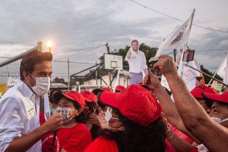 Firme y fuerte sí a Pablo Gamboa en el sur de Mérida