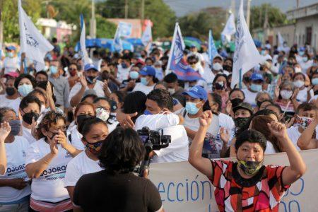 Militantes de otro partido se unen a la campaña de  Edwin Bojórquez