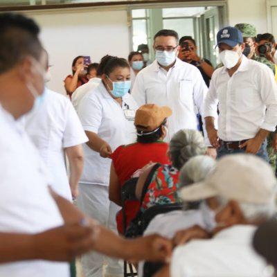 Abren registro para vacunar a personas de 40 a 49 años