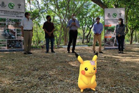 Con apoyo de Pokemon Go se rehabilita Jardín Botánico del Parque Recreativo de Oriente