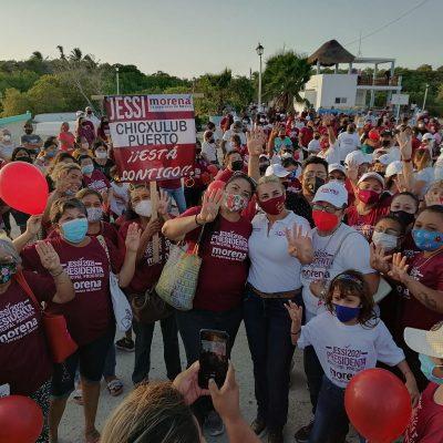 Por amor a Progreso, no les vamos a fallar: Jessica Saidén