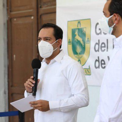 A partir del lunes 31 de mayo, aplicación de segundas dosis para mayores de 60 años en Mérida