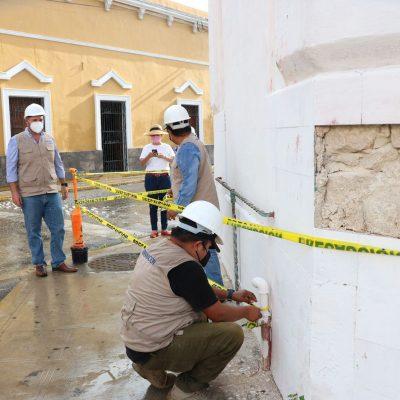 Ayuntamiento exhorta a dar mantenimiento a casas del Centro Histórico ante la temporada de lluvias