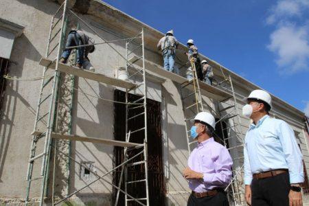 El Ayuntamiento de Mérida reanuda el programa de Rescate de Fachadas en el Centro Histórico