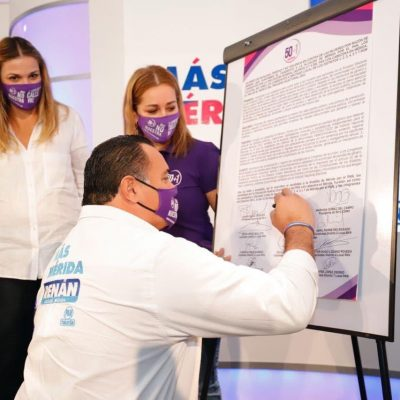 Desde el Ayuntamiento continuaremos trabajando para el empoderamiento de la mujer: Renán Barrera