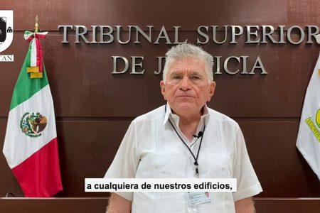 Solicita licencia el magistrado presidente del Tribunal Superior de Justicia de Yucatán