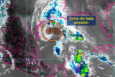 Zona de baja presión en el Golfo de México aumenta a 60 por ciento su potencial ciclónico