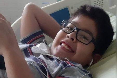 Carlos Enrique, un adolescente meridano, necesita ayuda para un trasplante de médula