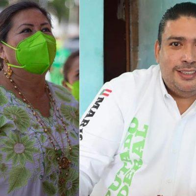 Dos candidatos morenistas con un pasado priista que les sale a gritos