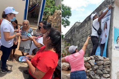 Más familias se suman al proyecto que encabeza Karina Pacheco