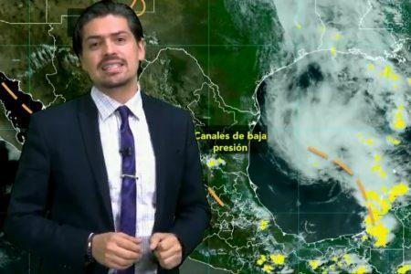 Mal tiempo con potencial ciclónico al norte de Yucatán: es el causante de las intensas lluvias