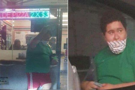 Una escapada más de Diego Andrey, el Niño Viajero de Valladolid: ahora se paseó en Puerto Morelos