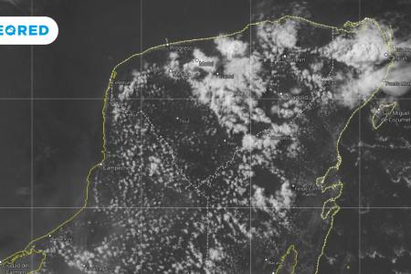 La vaguada maya, un fenómeno meteorológico propio de la Península de Yucatán