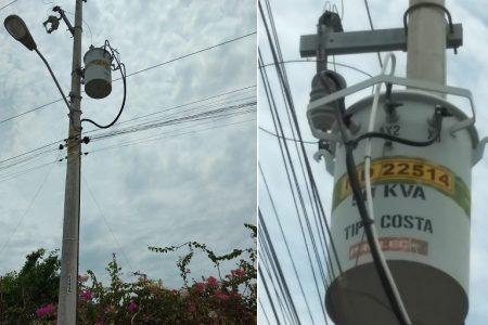 En Los Almendros II de Ciudad Caucel tienen 'luz y sonido' desde hace una semana, 'cortesía' de CFE