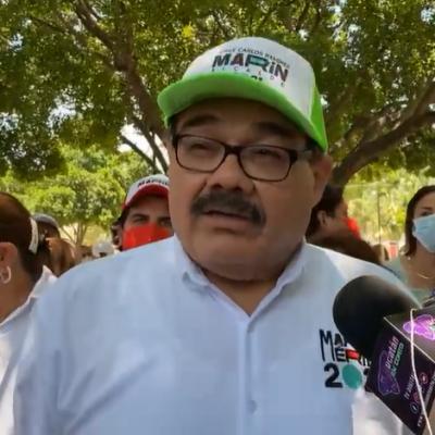 El priista Ramírez Marín reta a debatir al panista Renán Barrera