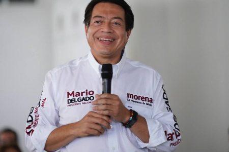 Llega hoy el presidente nacional de Morena, Mario Delgado