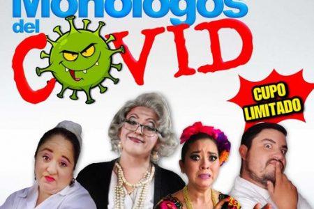 'Los monólogos del Covid' llega al Centro Cultural Olimpo, de manera presencial y en formato digital