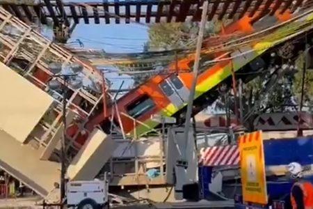 Anuncian peritaje internacional tras colapso de línea 12 del metro, en la Ciudad de México