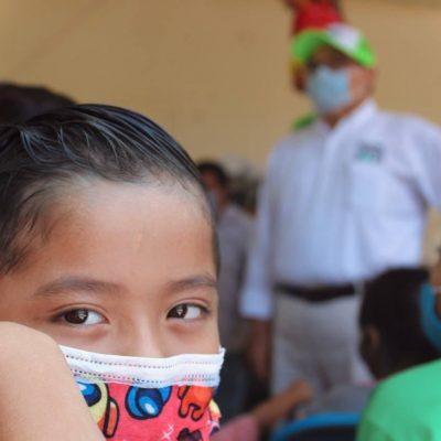 Ramírez Marín dará prioridad a la salud y desarrollo de los niños de Mérida